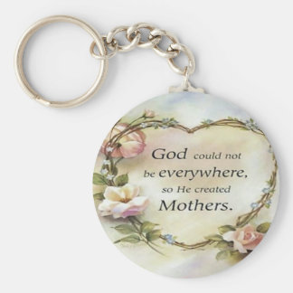 God Could Not Be Everywhere Key Chains