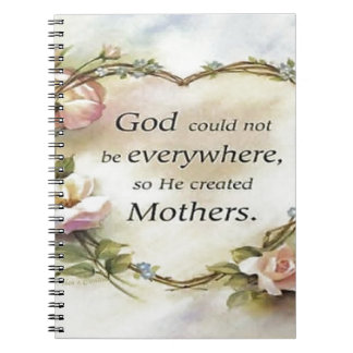God Could Not Be Everywhere.... Notebooks