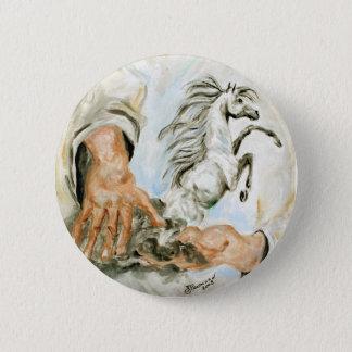God Created 104 6 Cm Round Badge