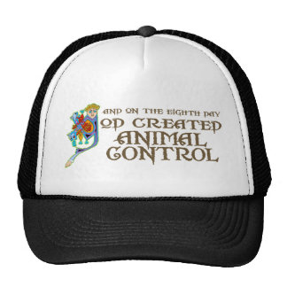 God Created Animal Control Cap