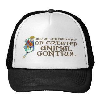 God Created Animal Control Cap