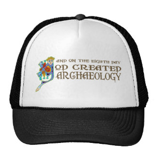 God Created Archaeology Cap