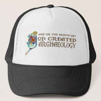 God Created Archaeology Trucker Hat