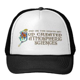 God Created Atmospheric Sciences Mesh Hats