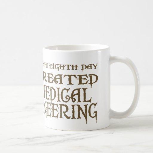 God Created Biomedical Engineering Coffee Mugs