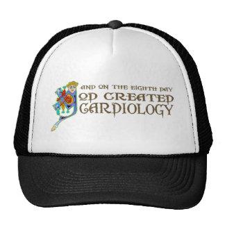 God Created Cardiology Cap