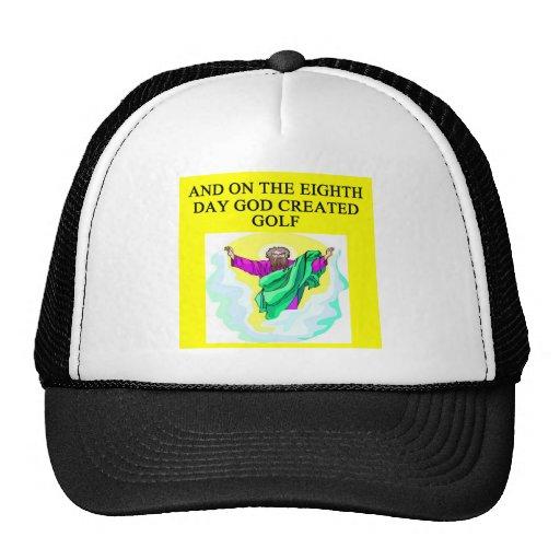 god created golf hat
