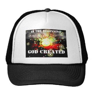 GOD CREATED Hat