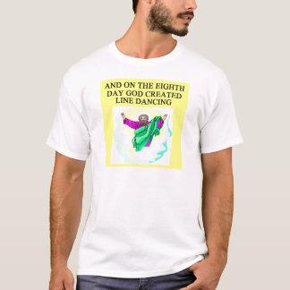 god created line dancing T-Shirt