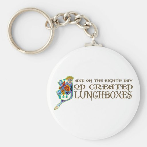 God Created Lunchboxes Key Chains