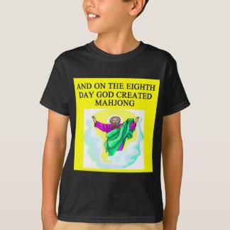 god created mahjong T-Shirt