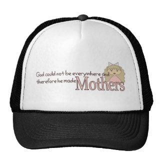 God created Mothers Trucker Hats