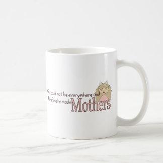 God created Mothers Coffee Mugs