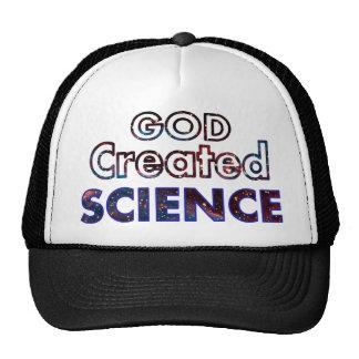 God Created Science Cap