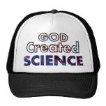 God Created Science Trucker Hat