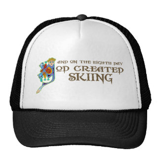 God Created Skiing Cap