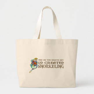 God Created Snorkeling Canvas Bag