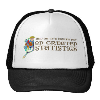 God Created Statistics Cap