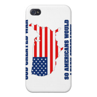 God Created War so Americans Would Learn Geography iPhone 4/4S Covers