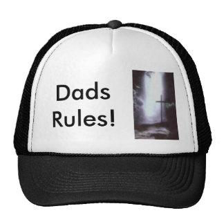 god, Dads Rules! Hats