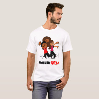 """God don't like UGLY!"" White T-Shirt"