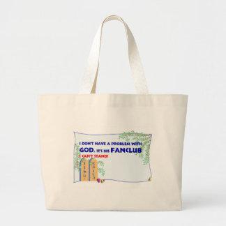 God FanClub Jumbo Tote Bag