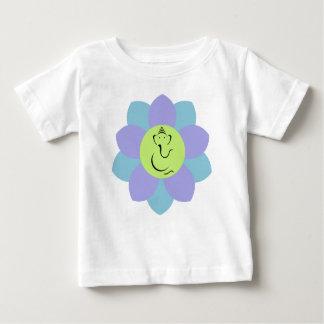 God Ganesh Flower pattern Baby T-Shirt