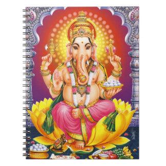 God Ganesha Notebook
