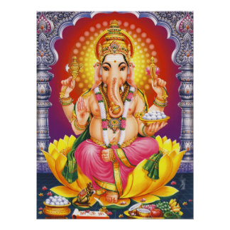 God Ganesha Poster