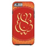 God Ganesha with sun rays Shell iPhone 6 Case