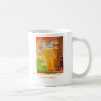 god giving adam and eve a second chance basic white mug
