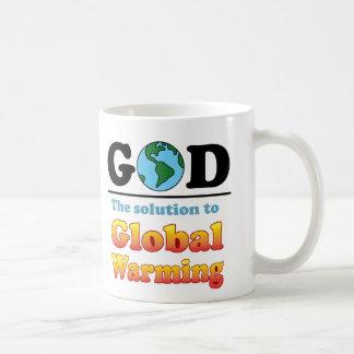 God Global Warming Mug