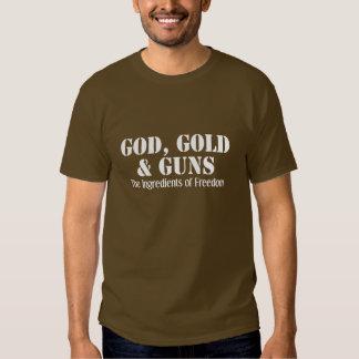 God, Gold & Guns T-Shirt