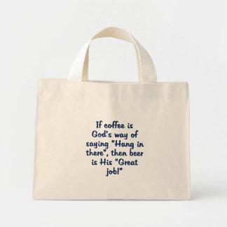 God has a reward for each of us canvas bag