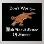 God Has A Sense Of Humour Platypus