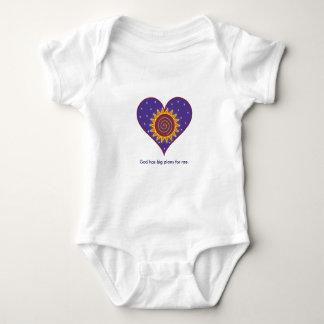 God has Big Plans for Me Baby Bodysuit
