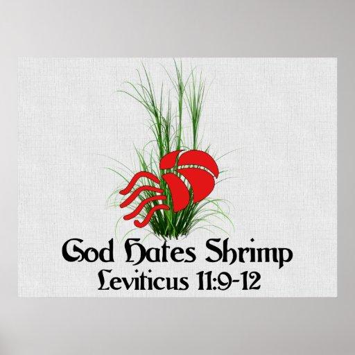 God Hates Shrimp Poster