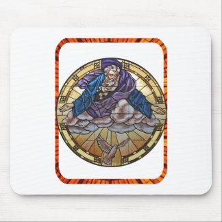 GOD HOLY SPIRIT CATHOLIC GIFTS CUSTOMIZABLE PRODUC MOUSE PADS