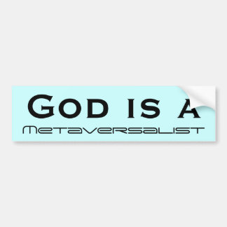God is a bumper sticker