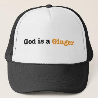 God is a Ginger Trucker Hat