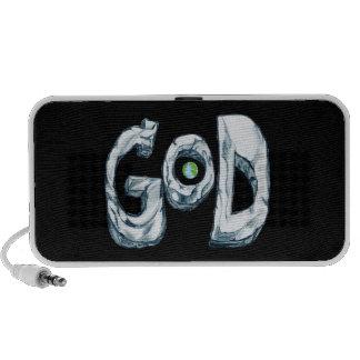 God is Bigger Than the World Speaker