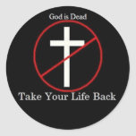 God is Dead Stickers