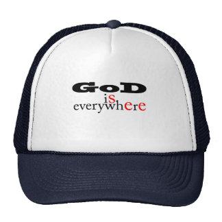 God is everywhere.God see everywhere- Gift Cap Hat