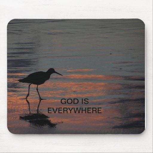 (God is everywhere) mousepad