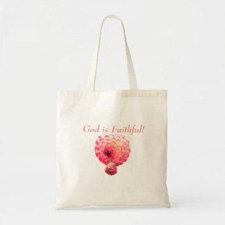 God Is Faithful! Tote Bag