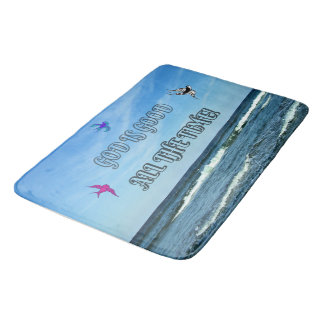 God Is Good All The Time Bath Mats