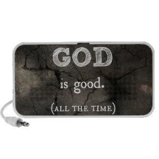 God is Good...All the Time Custom Christian Portable Speaker