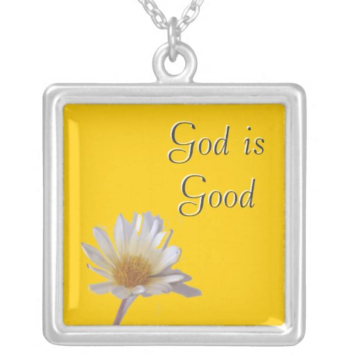 """God is Good"" Necklace"