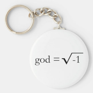 God is Imaginary Key Ring