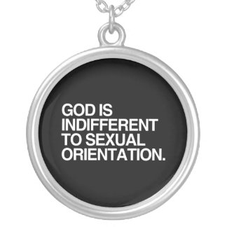 GOD IS INDIFFERENT PENDANTS